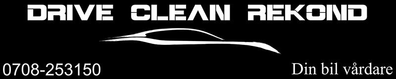 Drive Clean Rekond - Din bilvårdare
